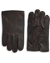 Polo Ralph Lauren - Three-point Napa Leather Gloves - Lyst