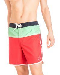 Guess - Colourblock Medium Board Shorts - Lyst