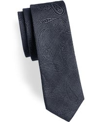 HUGO | Paisley Slim Silk Tie | Lyst