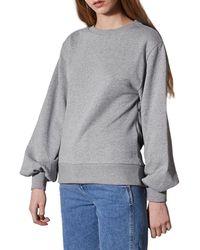 TOPSHOP - Dolman Sleeve Sweatshirt By Boutique - Lyst