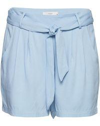 Ichi - Rola Belted Shorts - Lyst