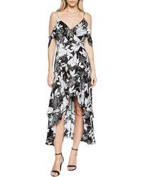 Bardot | Frankie Frill High-low Dress | Lyst