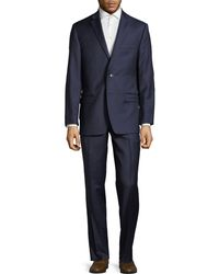 CALVIN KLEIN 205W39NYC - Regular Fit Micro-birdseye Wool Suit - Lyst