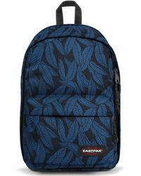 Eastpak - Back To Work Leaves Blue Rugtas - Lyst