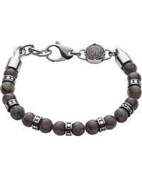 DIESEL - Heren Armband Beads Dx1164040 - Lyst