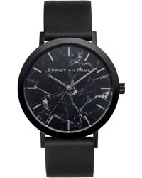 Christian Paul - The Strand Marble Stainless Steel Analog Watch - Lyst