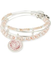 ALEX AND ANI - Three-piece Rose Art Infusion - Lyst