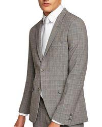 TOPMAN - Check Ultra Skinny Suit Jacket - Lyst