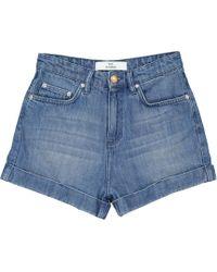 Won Hundred - Medina Jeans Shorts - Lyst