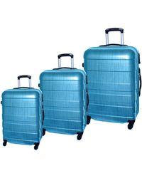 McBrine - Set Of Three Abs Suitcases 28 Inch - Lyst