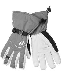 Helly Hansen - Journey Hellytech Leather Gloves - Lyst