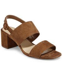 424 Fifth | Saddie Ankle-strap Sandals | Lyst