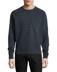 Outerknown | Heathered Crew Neck Sweater | Lyst