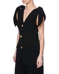 Bevza Ties Women Black Jacket