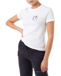 Ksubi Love Ash Distress Jersey T-shirt - White