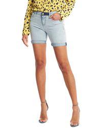 RTA Toure Women Blue Shorts