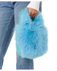 Charlotte Simone Pop Bag - Blue
