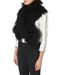 Charlotte Simone - Cookies Women Black Scarf - Lyst
