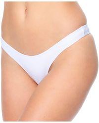 Minimale Animale Lafayette Women White Bikini Bottom