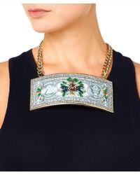 Bijoux De Famille Manhattan Beach Women Multicolor Necklace - Green