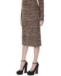Bevza - Melange Knitted Skirt - Lyst