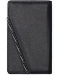 South Lane Avant Pure Black Wallet