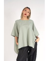 The Celect Nylon Winged Top - Gray