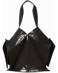 132 5. Issey Miyake Standard Bag 1 Big Tote - Black