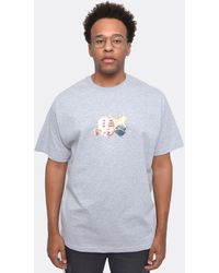 The Celect Elephants Cry T-shirt - Blue