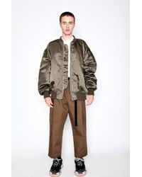 Hed Mayner - Classic Bomber Jacket - Lyst