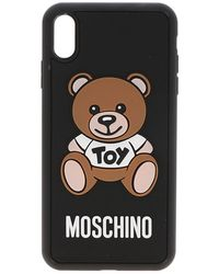 Moschino Toy Teddy Iphone Xs Max Case - Black