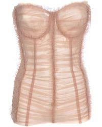 Dolce & Gabbana Corset Top - Pink