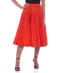 Casey Casey Upup Skirt - Orange