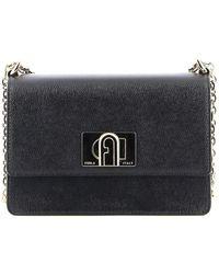Furla 1927 Mini Cross Body Bag - Black