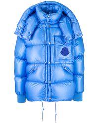 Moncler Coats Bluette
