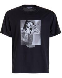 Neil Barrett T-Shirt The Rockstar God N°57 Nero