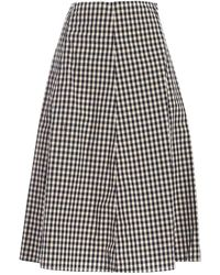 Woolrich Checked Skirt - Natural