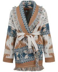 Alanui - Icon Patterned Cardi-coat - Lyst