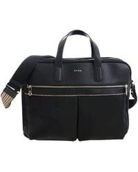 Paul Smith Black Cross-body Bag With Logo