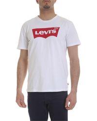 Levi's Housemark T-shirt White