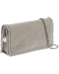 "Stella McCartney Grey ""falabella"" Mini Bag"