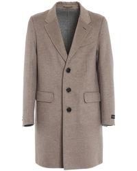 Ermenegildo Zegna Capri Coat - Grey