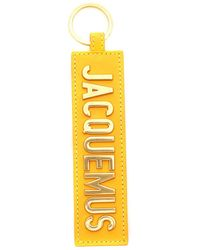 Jacquemus Le Porte Keyrings - Yellow