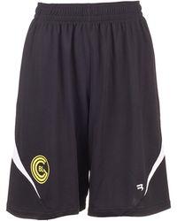 Balenciaga Technical Jersey Soccer Shorts - Black