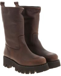 Paloma Barceló Boa Boots In Brown