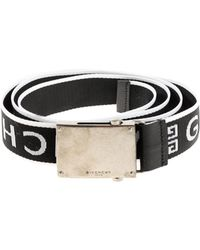Givenchy - Branded Fabric Belt - Lyst