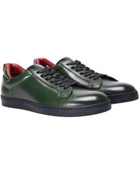 Green George - Leather Sneakers - Lyst