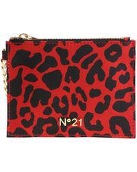 N°21 - Animal Printed Bag - Lyst