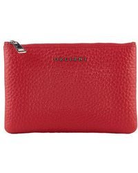 Orciani - Red Leather Wallet - Lyst