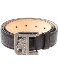 Tod's - Hammered Leather Belt - Lyst